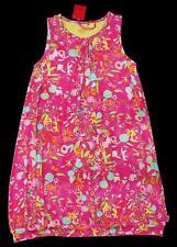 OILILY Girls Flower Field Pink TROFFIE Jersey Tank Dress ~ 152 Euro 12 US NWT aa