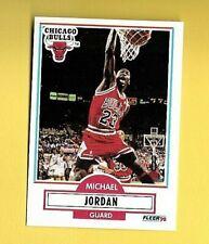 MICHAEL JORDAN 1990-91  FLEER  #26  BULLS  NRMT