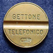 Gettone Telefonico  Senza Segno di  zecca  6410  Ruotato 180°