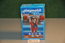 PLM6 playmobil MISB mint in sealed box sports and action set 5199 weight lifting