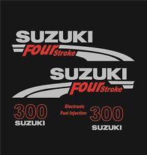 Adesivi motore marino fuoribordo Suzuki 300 hp four stroke