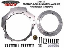 TOYOTA 1JZ 2JZ ADAPTOR PLATE TURBO T400 T700 4L60E CONVERSION POWER GLIDE AP134
