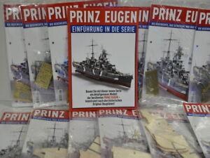 Modellbau Prinz Eugen Bausatz Hachette 1 - 140 Bauteile + Bauanleitung aussuchen