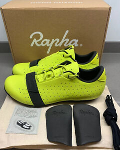 Rapha Classic Cycling Shoes Sulphur Spring Size 8 UK 42 EU Brand New Boxed