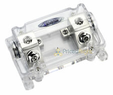 0 or 2 Gauge Anl Fuse Holder In Line Platinum Plated Xscorpion Anl4040P