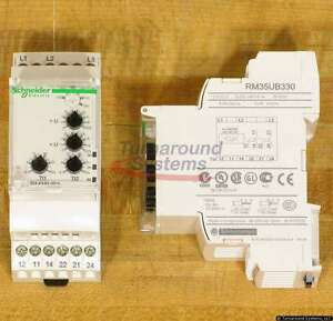 Telemecanique RM35UB330 Voltage Monitoring Relay, 3 Phase, NEW!