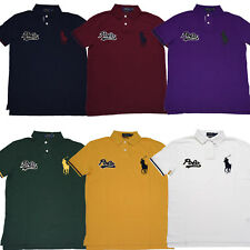 Hombres Polo Ralph Lauren Big Pony Polo Camisa de Malla-S M L XL XXL-Ajuste Personalizado
