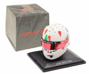 Spark 5HF052 Helmet Replica McLaren F1 British GP 2020 - Lando Norris 1/5 Scale