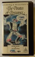 The Pirates Of Penzance VHS 1982 Musical Rodney Greenberg CEL Cardboard Re-Cased