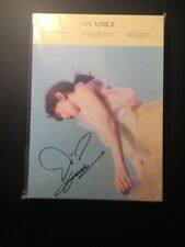 Taeyeon My Voice Deluxe Edition Promo Autographed Signed Girls Generation SNSD