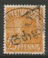 "STAMPS-Germany-Soviet zone. 1948. 25pf ""Schwerin"" Michel: 175 VIII examiné."