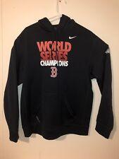 Nike Boston Red Sox Therma Fit Hoodie Mens Large World Series Sweatshirt RARE