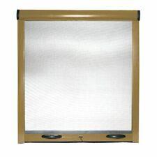 Zanzariera avvolgibile a rullo riducibile frizione porte finestre in kit Oro