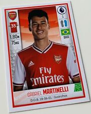 Panini Premier League 2019-20 Sticker - Gabriel Martinelli #74 FC Arsenal