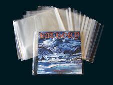 50 LP - Hüllen mit Verschluss (selbstklebend)- Neuware