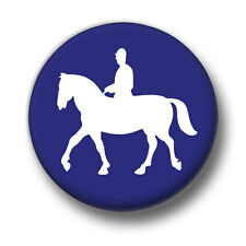 Horse Riding Love / Heart Badges 1 Inch / 25mm Pin Button Badge Horses Show Jump