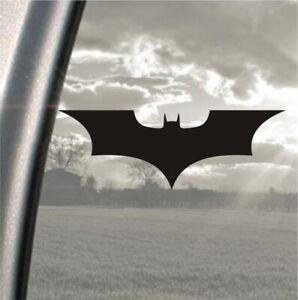 "Batman logo, bumper, car, laptop, vinyl sticker decal,15cm x 5cm, 6"" x 2"" inch"