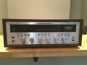 Vintage Marantz 2270 stereo receiver upgraded LED Lights with demo video