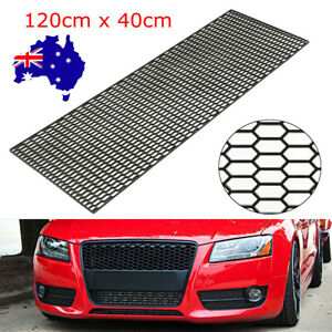 """47"""" x 16"""" Honeycomb Vent ABS Plastic Car Tuning Grill Grille Mesh Net 40x120cm"""