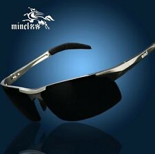 Branded Posh Designer Sunglasses For Men Aluminium Polarising Outdoor Winter Sal