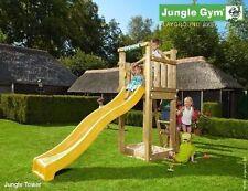 Torretta gioco Tower per bambini in legno con scivolo e kit accessoriJungle Gym