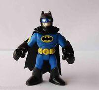 #Q1~ Imaginext DC Super Friends Batman blue Action Figure (Fisher-Price) Hero