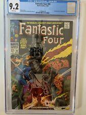 Fantastic Four #80 (1968) CGC 9.2 - Marvel Comics 1st App Tomazooma