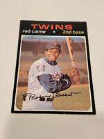 1971 Topps #210 Rod Carew Minnesota Twins High Grade NRMT