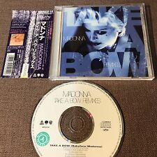 "MADONNA Take A Bow Remixes JAPAN 8-track 5"" MAXI CD WPCR-191 w/OBI ex.Rental"