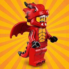 LEGO MINIFIGURES SERIE 18 71021 - 7 DRAGON SUIT GUY ragazzo drago UNA MINIFIGURE