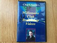 "CHUCK SMITH ""LIVE"" MILLIONAIRE CLUB REAL ESTATE BOOTCAMP VIDEOS ON 4 DVD'S!"
