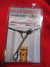 Rock-It outdoors The Original Knotless STRING D Loop Long BOW HUNTING