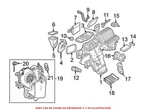 For Mercedes Genuine A/C Evaporator Core 1648300158