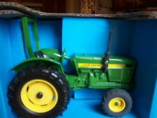 John Deere Compact Utility toy tractor with ROPS& front suitcase weights by Ertl