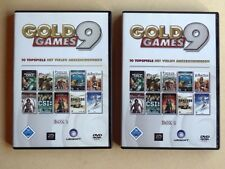 Gold Games 9 mit 4 DVDs: insgesamt 10 Topspiele (Bards Tale, Splinter Cell etc.)