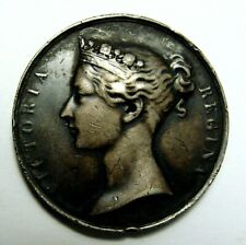 1853 Victoria Silver South Africa Medal Awarded: Jas. W. Hart Engineer Artillery