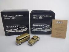 "BUB  VW Bus  &  VW Käfer  ""Volkswagen Christmas Edition 2004""  1:87 OVP !"