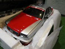 AUDI V8 QUATTRO DTM 1992 # 45 TEAM SMS HAUPT 1/18 d MINICHAMPS 100921045 voiture