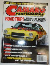 Camaro Performers Magazine Dynacorn '67 Camaro Suspension November 2006 022315r3