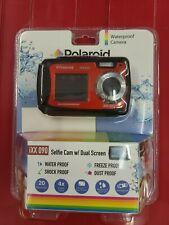 Polaroid iXX 090 20 MP Waterproof Digital Camera Red NEW Free Priority Shipping