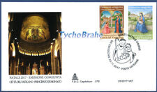 FDC NAVIDAD 2017 NATALE VATICAN JOINT MONACO First Day Cover - CAPITOLIUM 579