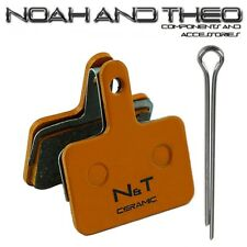 N&t Shimano B01 B01S E01 E01S M05 M05S M05Ti Cerámica Pastillas Freno de Disco