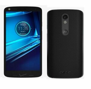 NEW! Motorola Droid Turbo 2 32GB Black (Verizon/GSM Unlocked) VoLTE Smartphone