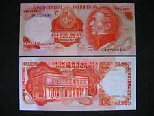 URUGUAY  10000 Pesos 1974  (P53b)  UNC