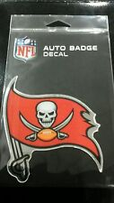 """TAMPA BAY BUCCANEERS AUTO BADGE CAR DECAL EMBLEM 3""""×5"""" NEW ITEM! FREE SHIPPING!"""