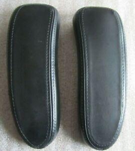 Armauflagen für Herman Miller Aeron Bürodrehstuhl - Gr. A-B-C Leder oder Vinyl