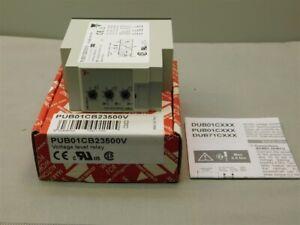 Carlo Gavazzi PUB01CB23500V Voltage Level Relay SPDT 11-Pin Plug-In New in Box