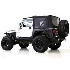 Jeep Wrangler TJ Premium Soft Top Combo 1997-2006 OE Replacement Black 9974235