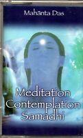 MAHANTA DAS - MEDITATION CONTEMPLATION SAMADHI - MUSICASSETTA NUOVA SIGILLATA
