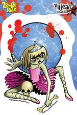 Zombie Kids - Vanessa - fairy dancer skull sticker decal weather resistant